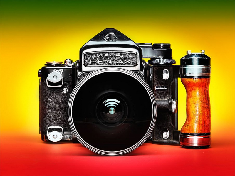 Camera of the day / Pentax 67